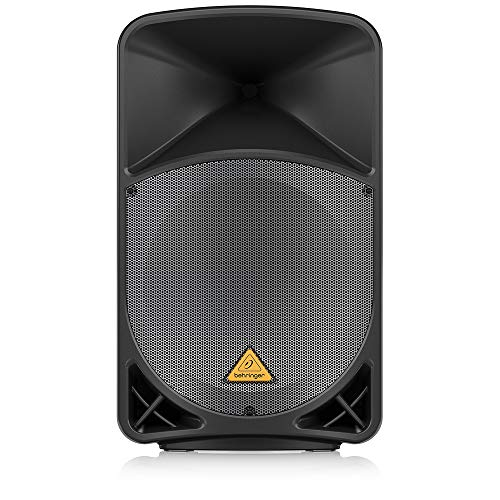 Behringer B115D Eurolive Active 1000-Watt 2-Way 15-Inch PA Speaker System with Wireless Option and Integrated Mixer