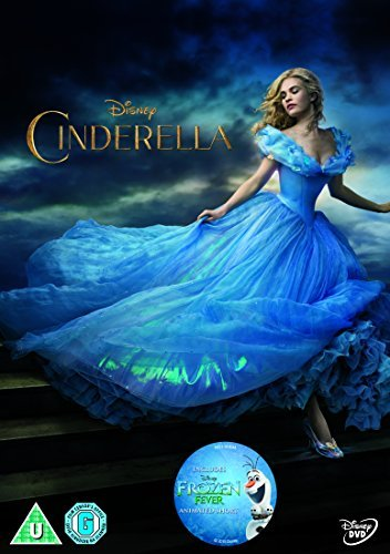 Cinderella [DVD] by Lily James