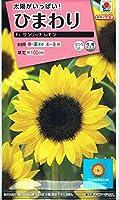 【種子】ひまわり F1サンリッチレモン 3ml