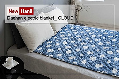 NEW HanIl Electric Heated Mat Warm Sheet Washable Heating Pad 220V Single Double