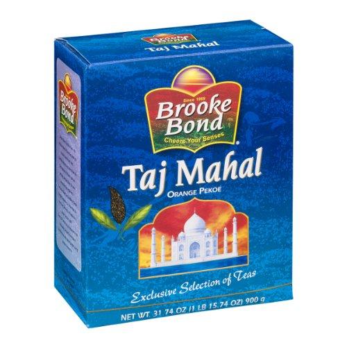 Brooke Bond Taj Mahal Orange Pekoe Tea 31.74 Oz