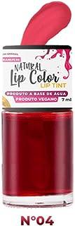 Batom Tinta Natural Lip Color Top Beauty Cor 04, Top Beauty