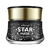 KAYI Glitter Star Maske Ton 50G Kokosnuss Duft Peel-Off Tiefenreinigung Dead Skin Removal Gesicht Feuchtigkeitsspendende Haut Firming Gel Clay
