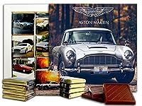 アストンマーチン, Aston Martin, チョコレートギフトセット、13x13cm (Grey)