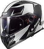 Casco moto LS2 FF324 METRO EVO SUB Bianco Nero P/J, Bianco/Nero, XS