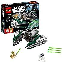 Construisez le vaisseau starfighter de Maître Yoda, avec ses ailes repliables et ses canons lasers Inclut Yoda et R2-D2 Les ensembles LEGO Star Wars sont compatibles avec tous les ensembles de construction LEGO pour une expérience de construction san...