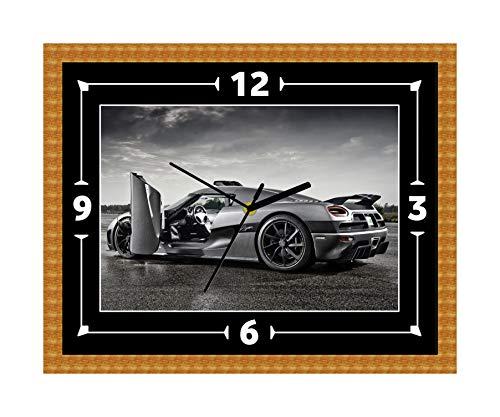 Koenigsegg CCX Super Car Wanduhr Geschenk Weihnachten Geburtstag (personalisierbar)