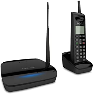 EnGenius FreeStyl 2, High power and sensitivity wireless  extreme range, 9 Handset Landline Telephone, 900 Mhz with 2-way intercom