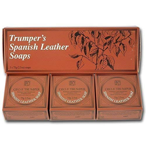 Geo F Trumper Spanische Leder Handseife (3 X 75 G