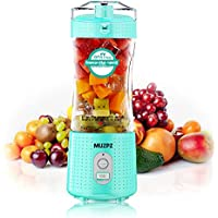 MUZPZ Portable Blender Juicer Cup with USB Rechargeable for Shakes