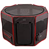 Petsfit 36' Dia x 21H Zipper Sealed Bottom Portable Foldable Pop Up...
