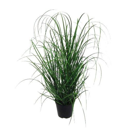 Kunstpflanze Gras, Dekogras. GRASBUSCH IM TOPF. Ca 60 cm. OHNE Übertopf.