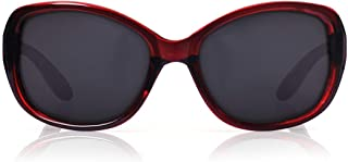 Fastrack Polarized Oval Women's sunglasses (P307BK1FP|54|Brown Color