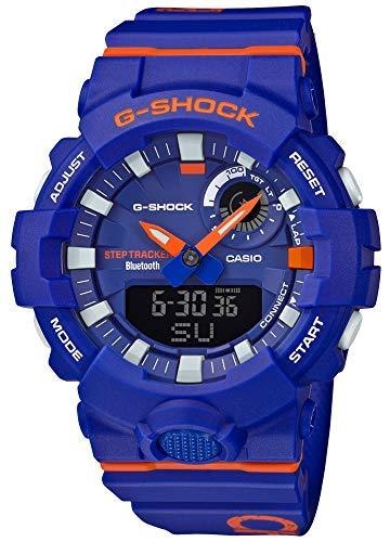 [カシオ] 腕時計 ジーショック 歩数計測 Bluetooth 搭載 GBA-800DG-2AJF メンズ ブルー