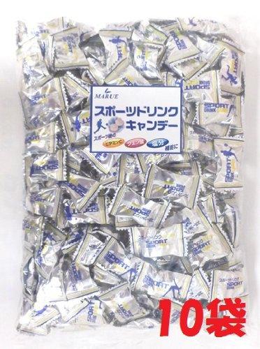 1キロ入り スポーツドリンクキャンディ マルエ製菓 10袋
