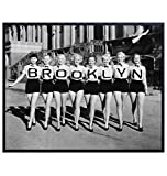 Brooklyn Vintage Photo Wall Art Print - 8x10 Home Decor Poster Decoration for Living Room, Bedroom, Apartment, Office - Gift for New York Fans - Unframed