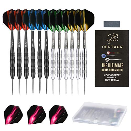 6 Stk Aluminum Darts 2ba Shafts 6 Farben Medium Harrows Dart Stems-Throwing