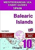 Spain. Balearic Islands. Mediterranean sea chart-guide (Portolano cartografico)