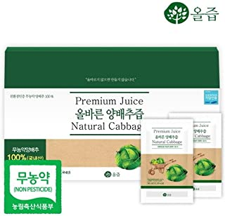 korean cabbage juice
