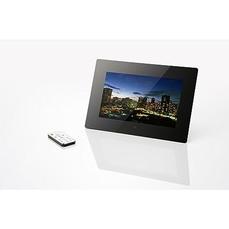 ONKYO LPF10M01-BL ワイドデジタルフォトフレーム 10.1型 ブラック