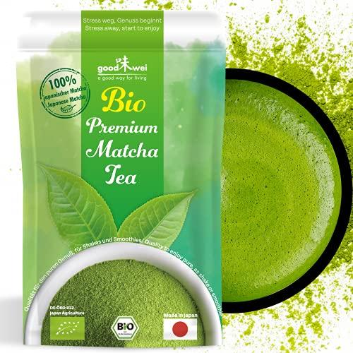 Matcha Pulver Tee Bio - Original Japanischer Matcha in Premium Qualität (50g)