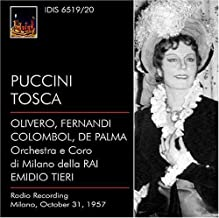 Puccini: Tosca by Magda Olivero (2007-06-26)