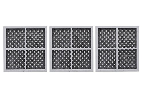 3 Pack Replacement, Refrigerator Air filter to LG LT120F, ADQ73214404, Kenmore 469918
