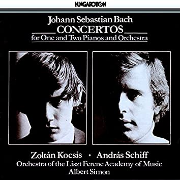 Bach: Keyboard Concertos, Bwv 1052, Bwv 1053, Bwv 1060 and Bwv 1061