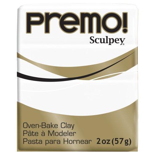 Sculpey Premo ofenhärtende Modelliermasse weiß