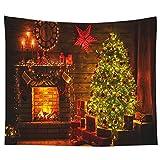 Proumhang Fantasy Tapsetry Wandteppiche Weihnachten Thema hängendes Dekor für Schlafzimmer Wohnzimmer Wohnheim-Stil 23 (200x150cm)