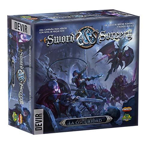 Juego de mesa Devir-Sword & Sorcery Cuando Llega La Oscuridad