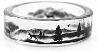Best mountain ring box Reviews