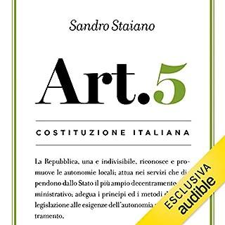 Articolo 5 cover art