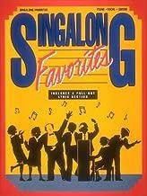 Singalong Favorites (Piano Vocal Guitar Series)