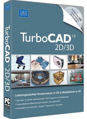 GK Planungssoftware TurboCAD V19 2D/3D+ 3D Symbole