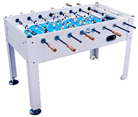 Best Outdoor Foosball Table - Park & Sun Sports Blue Sky Beachwood Indoor / Outdoor Foosball Table