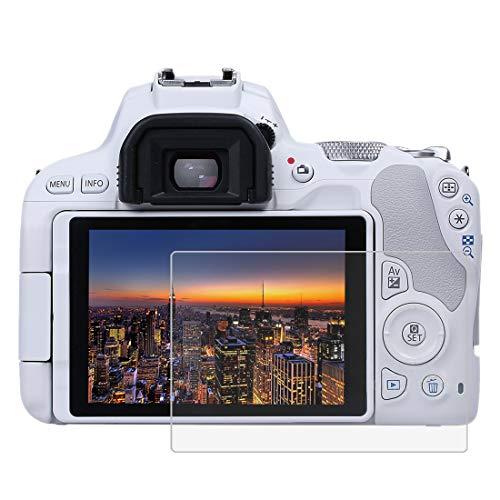 BYbrutek Pellicola Salvaschermo in Vetro Temperato per Canon EOS 200D, Durezza 9H, Antigraffio Pellicole Protettive per Display per Fotocamera Digitale(EOS 200D)