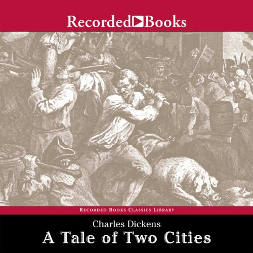 Couverture de A Tale of Two Cities [Recorded Books]
