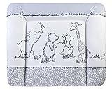 Julius Zöllner Wickelauflageauflage Softy, 75 x 85 cm, Pooh (Weiß)