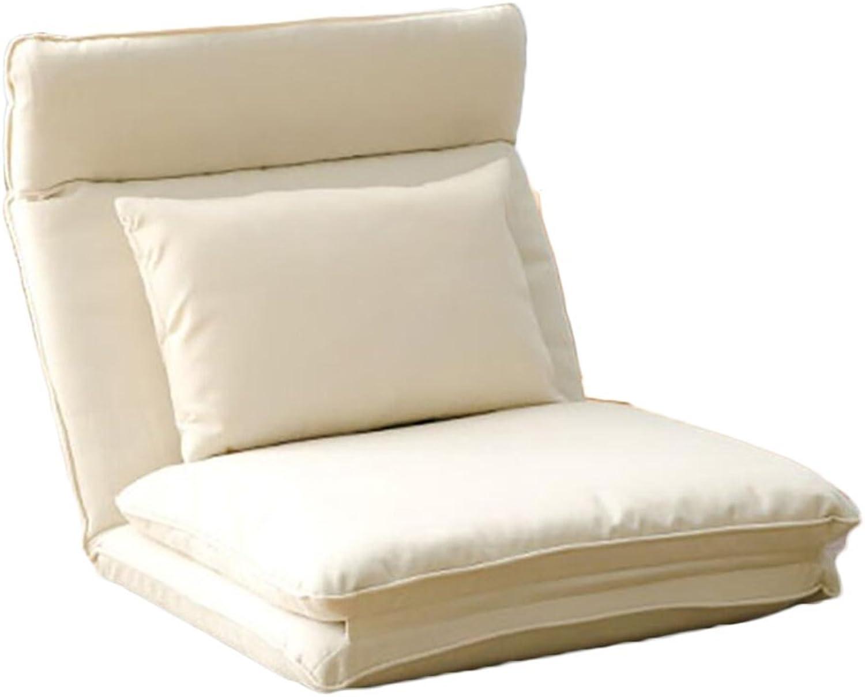 Comfortable Sofa, Lazy Sofa Chair Foldable Single Floor Chair Living Room Balcony Sofa Chair (color   2 )