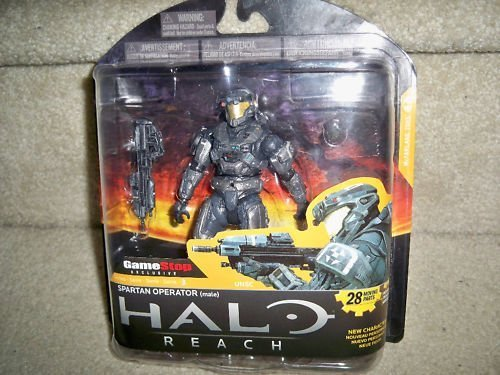 Halo Reach McFarlane Toys Series 3 Exclusive Action Figure STEEL Spartan Operator Male