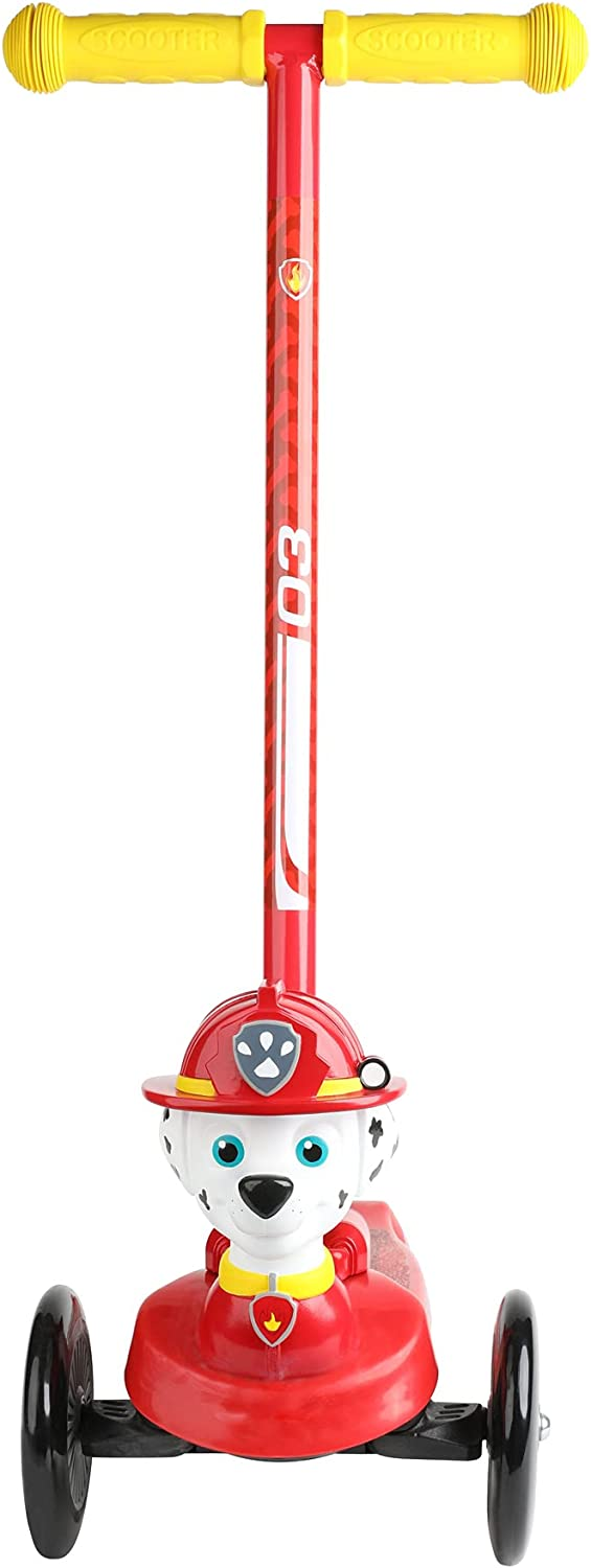 PAW Patrol Toddler Scooter for Boys with Direct stock discount 3D National products and Marshall Girls