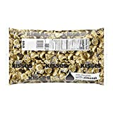 HERSHEY'S KISSES Chocolate Holiday Candy, Silver Foils, Milk Chocolate, Great for Christmas and New Year's Parties 4.1lb Bulk Candy