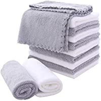 12-Pack Moonqueen Microfiber Fast Drying Facial Cloths