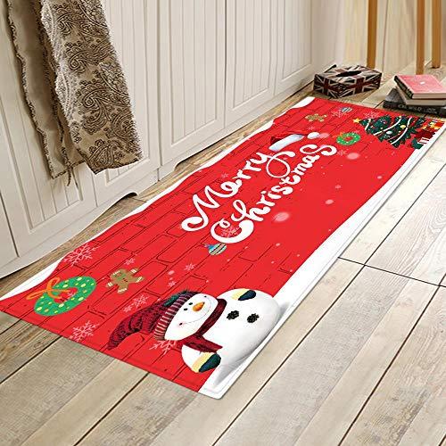 HMHM Non slip vloermat nieuwe persoonlijkheid Kerstmis vloermat deurmat entree mat anti-slip absorberende vloermat fabriek direct digitale drukvloer mat