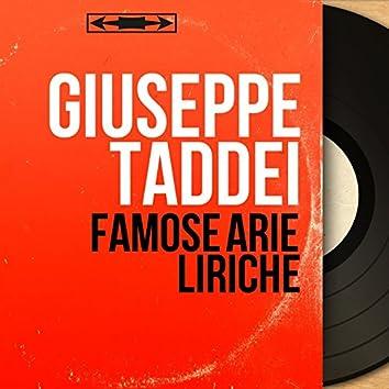 Famose arie liriche (Mono Version)
