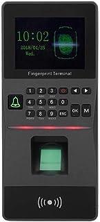 آلة الحضور والانصراف 2.8 بوصة شاشة ملونة TFT الموظف قارئ الحضور بصمات الأصابع موظف جهاز الحضور