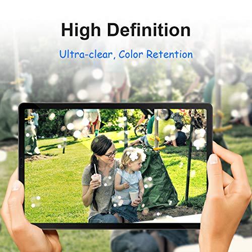 Gerutek [2 Stück] Schutzfolie Samsung Galaxy Tab S5e / S6 10.5-Zoll, 9H Härte, Anti-Kratzer, Anti-Öl, Anti-Bläschen, 2.5D Displayfolie Für S6 10.5 T860/865, Panzerglas Displayschutz Für S5e T720/T725