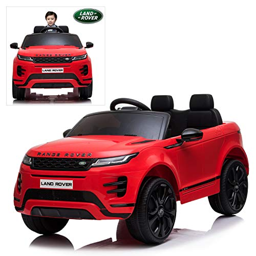 Kids Ride On Cars with Remote Control, 12V Licensed Range Rover Electric Vehicle with Bluetooth,...