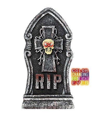Widmann- Pierre tombale avec tête de mort, Mixte Adulte, 7776K, Multicolore, 60